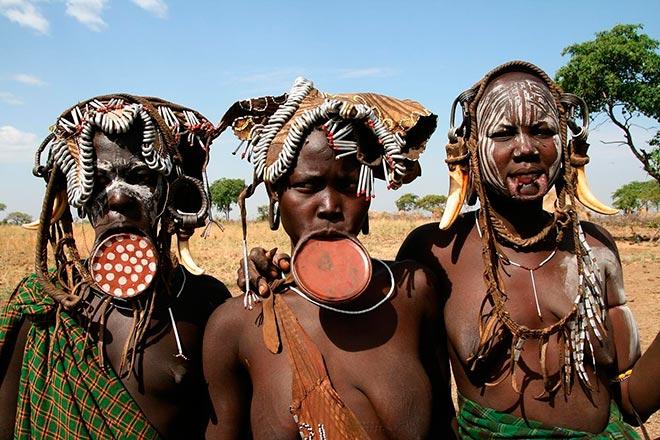 etiopia etnie valle dell'omo