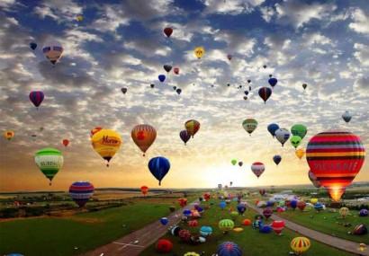Festival del volo. Nel cielo gratis sui palloni giganti