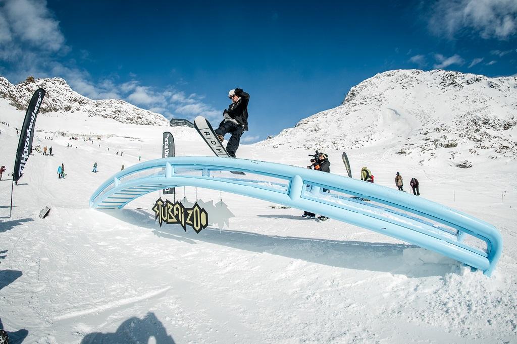 Freeski allo Snowpark
