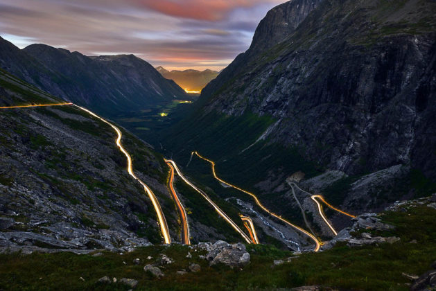 Trollstigen, Norvegia, Fiordi nord-occidentali