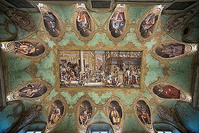Affreschi a Palazzo Lercari ©G. Cavalieri