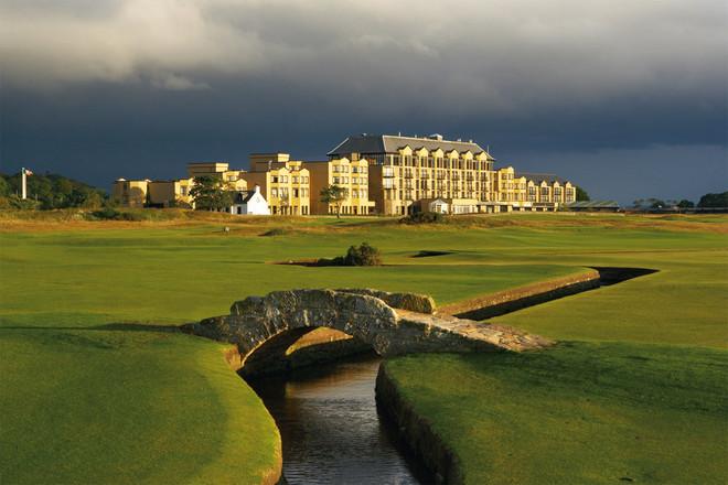 Scozia A St Andrews Dove Nacque Il Golf Latitudes