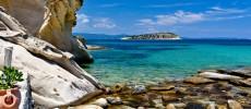 Grecia, Calcidica. Acqua tra le dita