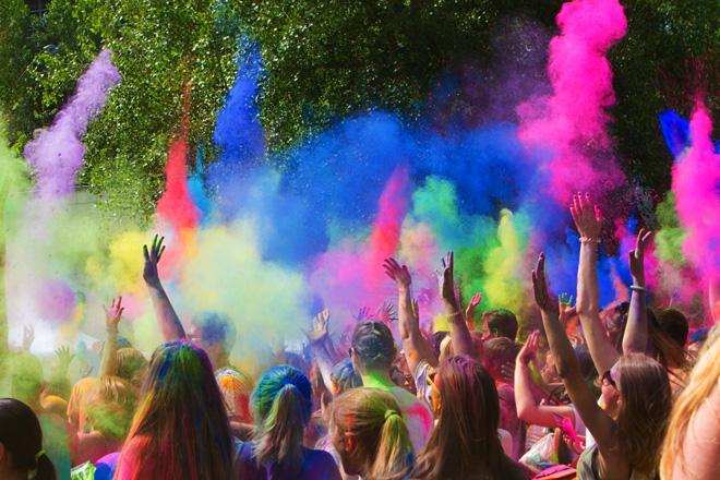 HOLI, Il festival dei colori - il primo in Italia