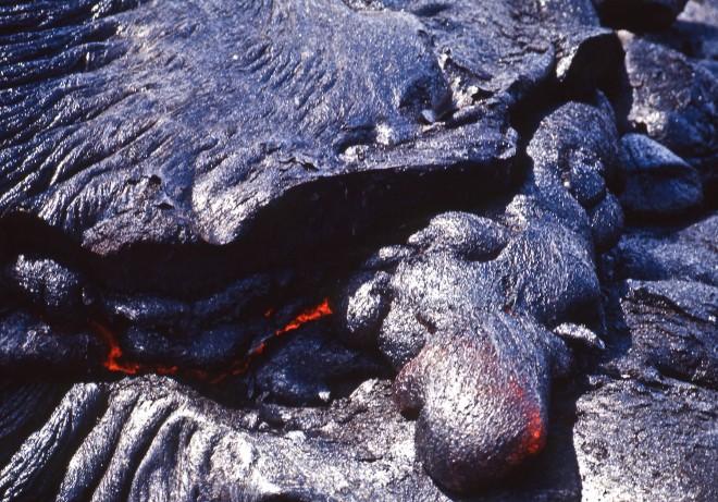 Hawaii, Big Island, lava. Foto di Marco Santini
