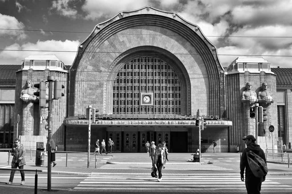 Helsinki-stazione-treno