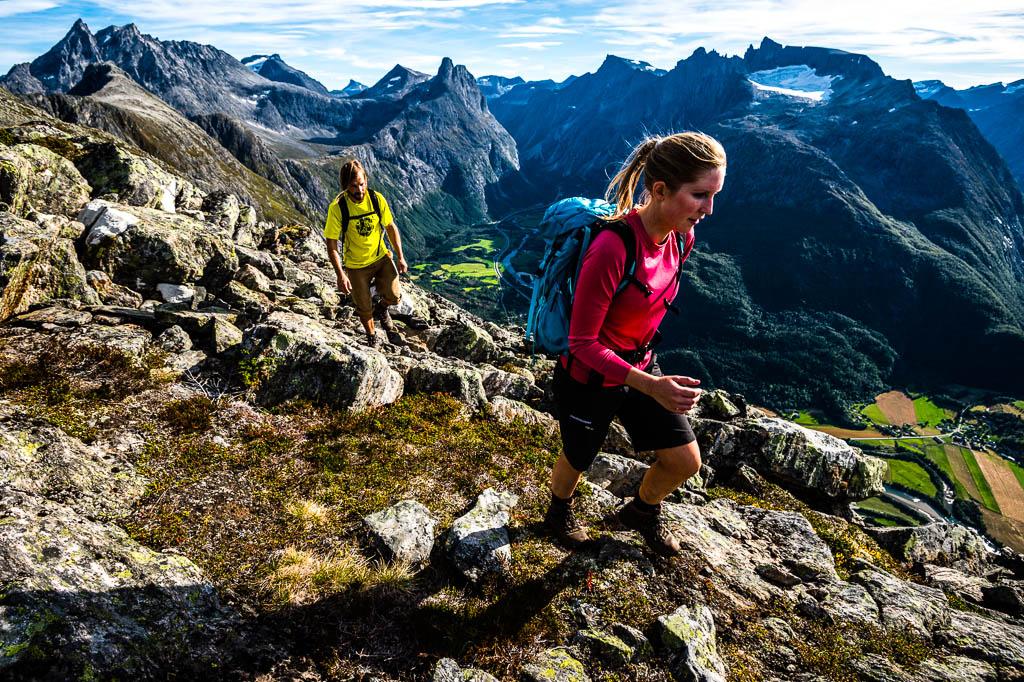 Trekking Romsdalseggen