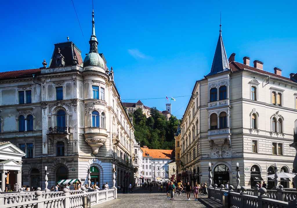 Lubiana-Slovenia-Tre-Ponti-il-Castello
