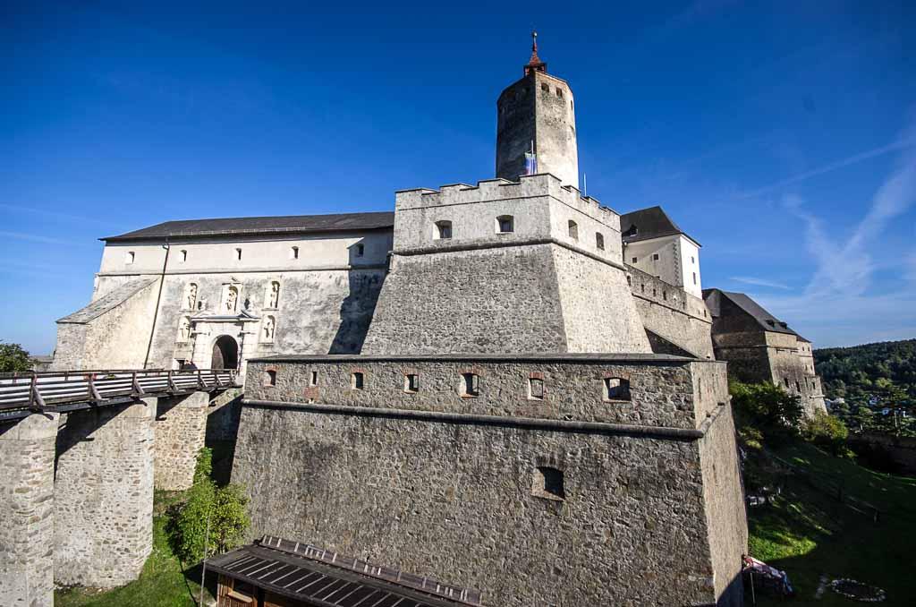 Austria-Burgenland-castello--Forchtenstein