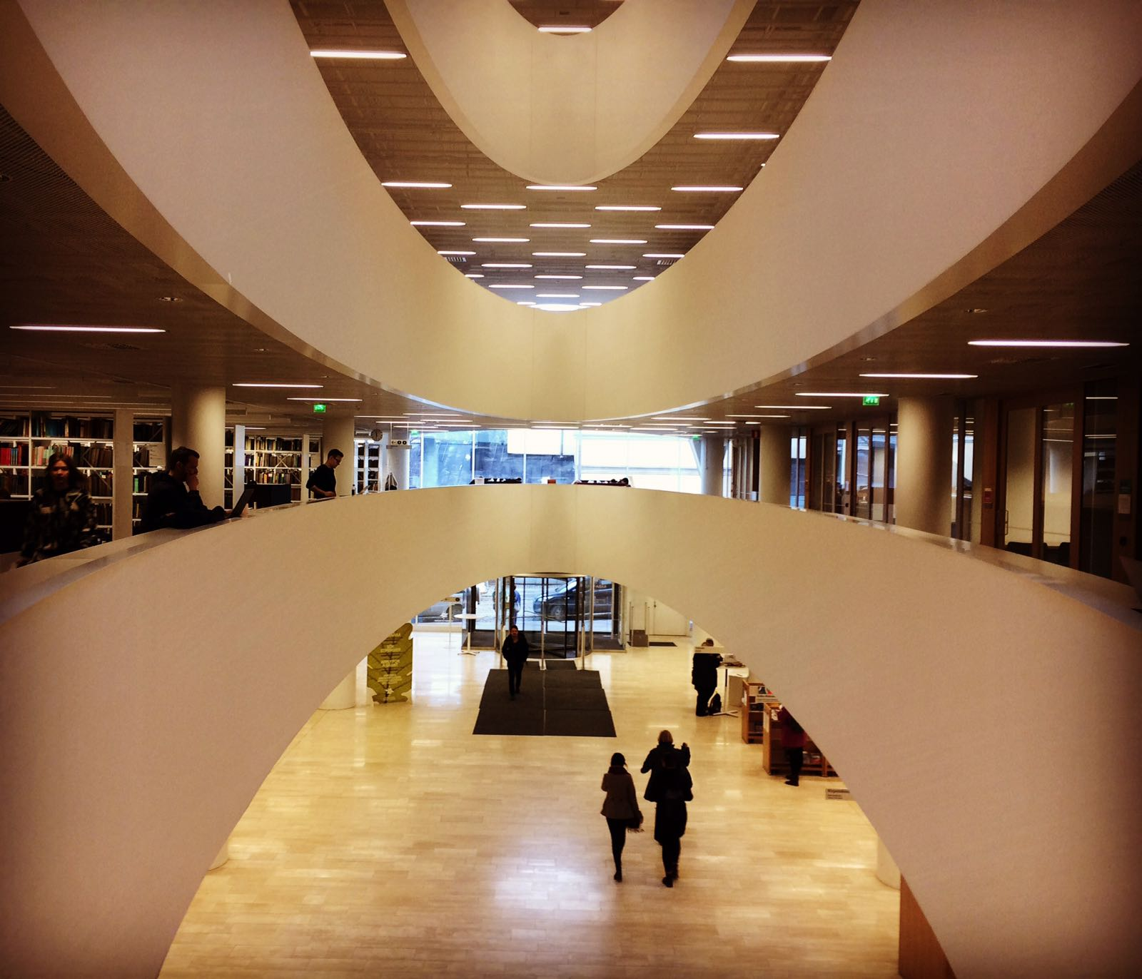 Kaisa Helsinki University Library Finlandia