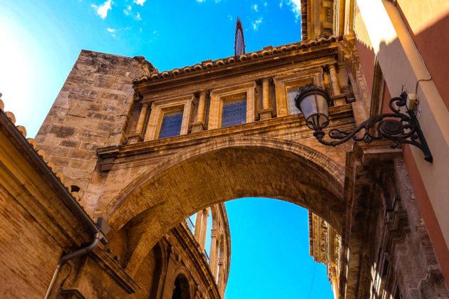 Valencia, l'Arco della cattedrale
