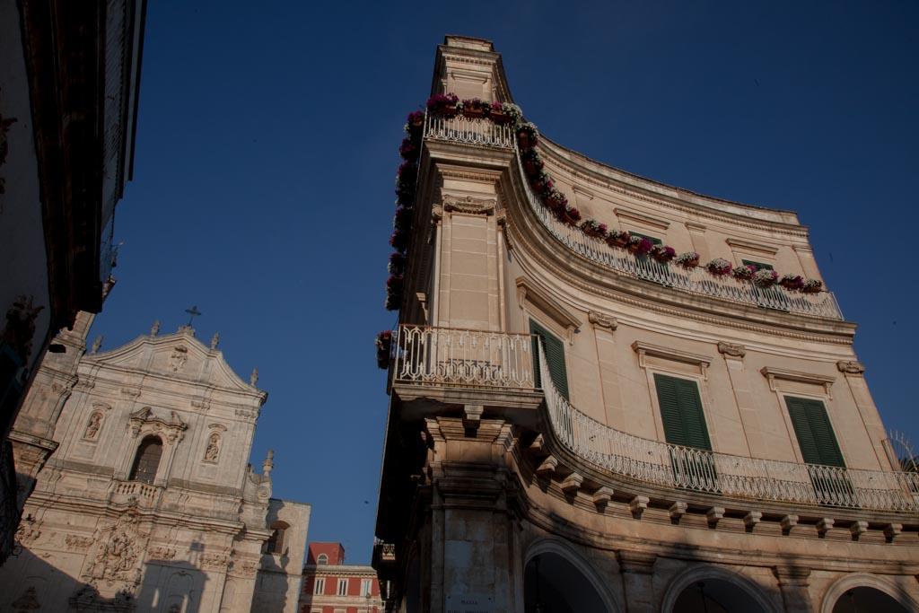 """Martina Franca. Piazza Maria Immacolata, detta anche """"I Portici"""""""