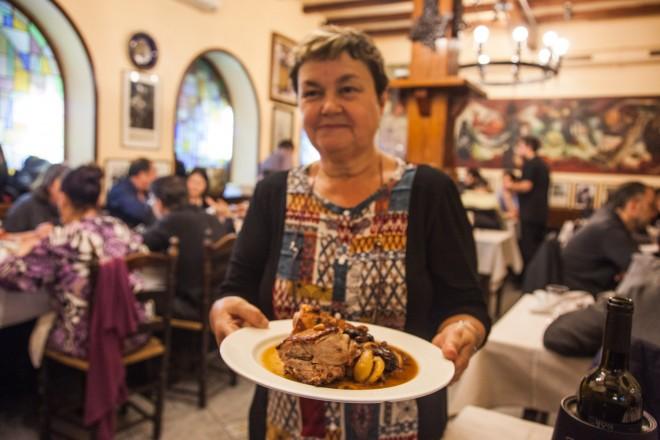 Spagna, Barcellona, Spain, Barcelona, Susana del Restaurant Can Culleretes,