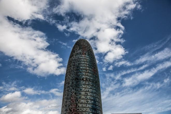 Spagna, Barcellona, Spain, Barcelona, Torre Agbar,