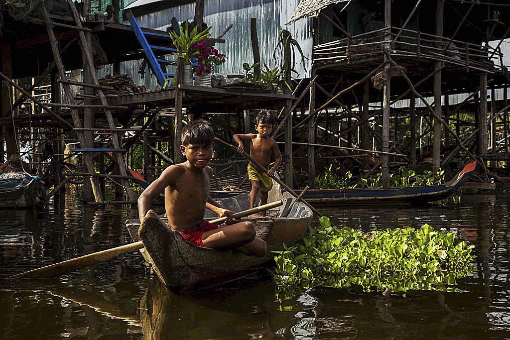 Canoa Tonle Sap