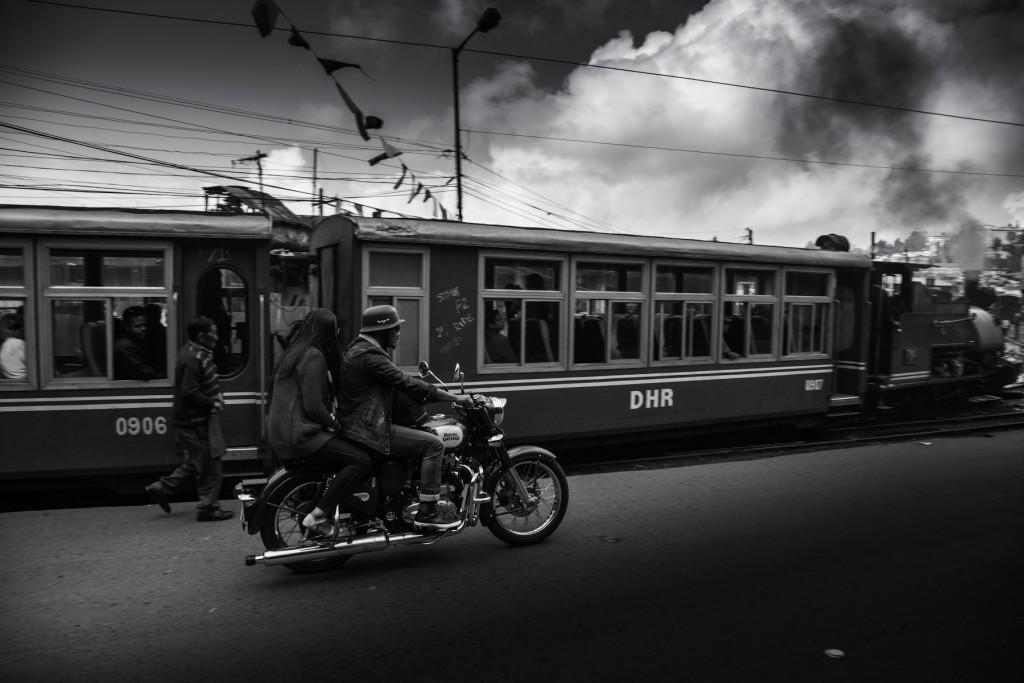 Il treno a scartamento ridotto a Darjeeling
