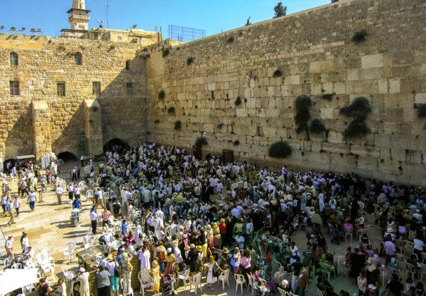 israele gerusalemme muro del pianto