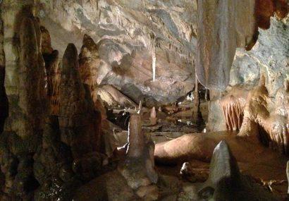 Le Grotte di Toirano, curiose impronte