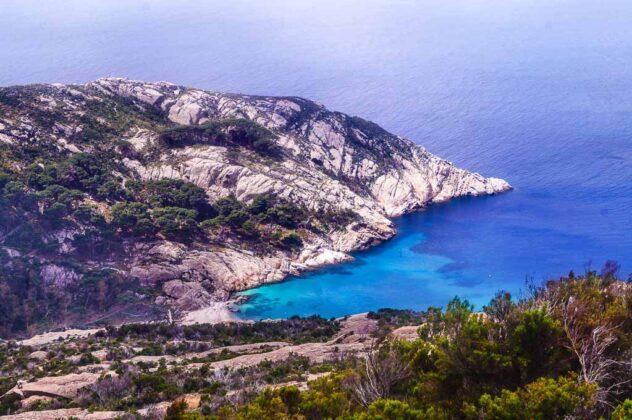 Cala Maestra, Isola di Montecristo