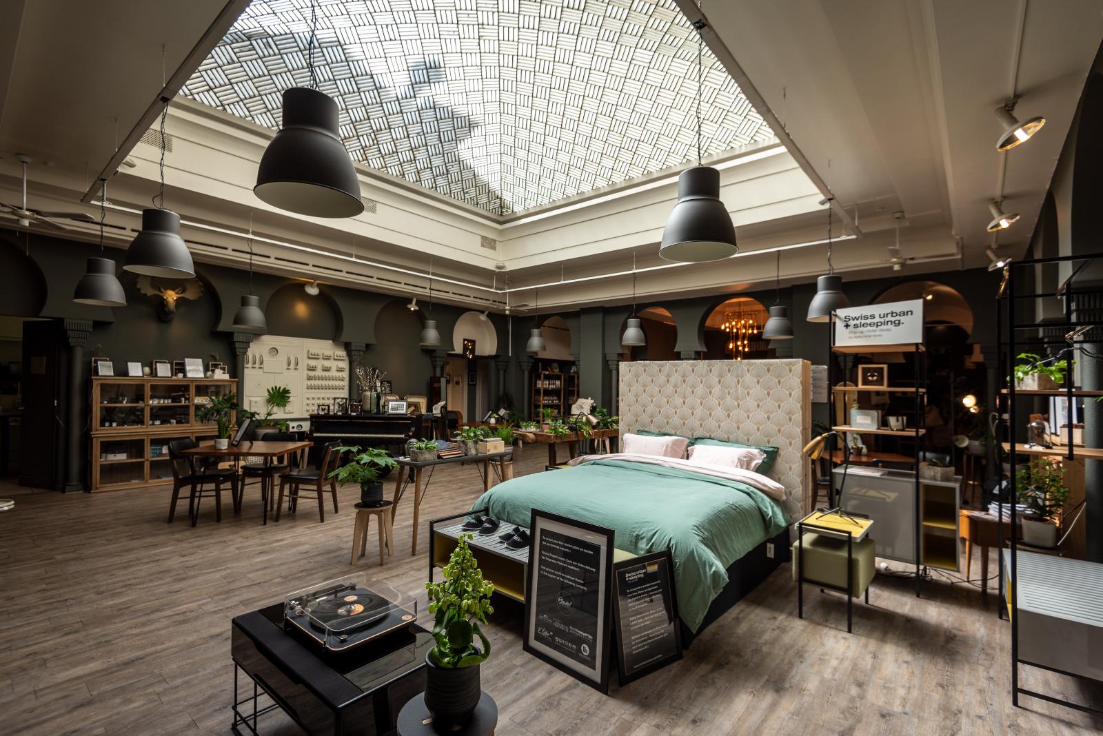 Dormire in Svizzera è pop. I luoghi insoliti diventano hotel ...