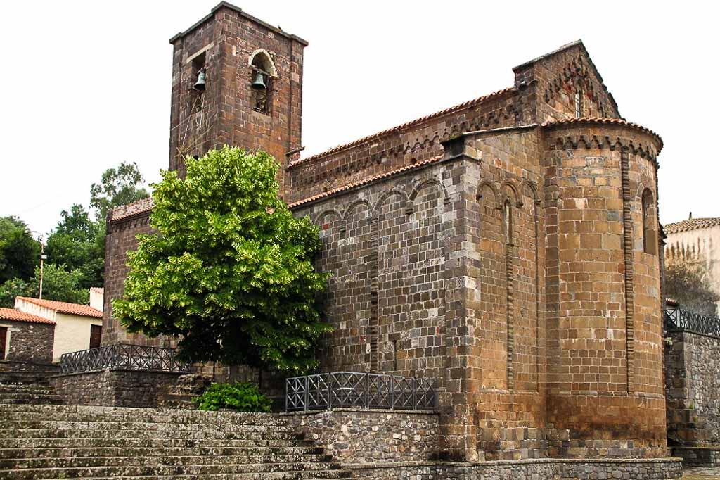 sardegna Basilica di Santa Maria di Bonarcado