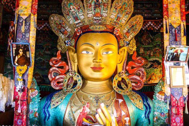 Ladakh-Buddha-India