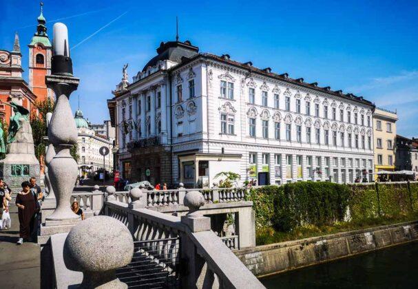 Lubiana-Slovenia-fiume