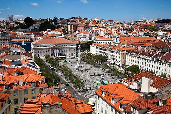 Lisbona, Praça do Rossio