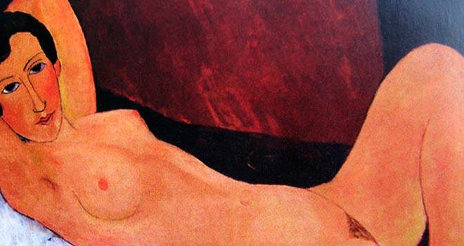 Modigliani-Grande-nudo-particolare-1918