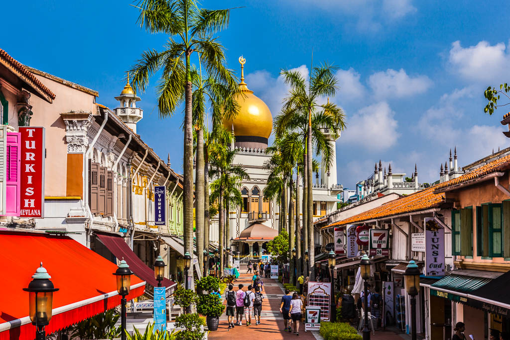 Singapore, laMoschea del Sultano