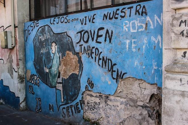 Murales nella città vecchia