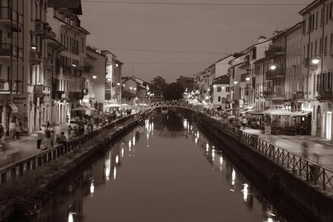 Naviglio Grande a Milano, credits Eugenio Bersani