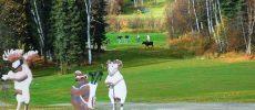 Golf al fresco in Canada