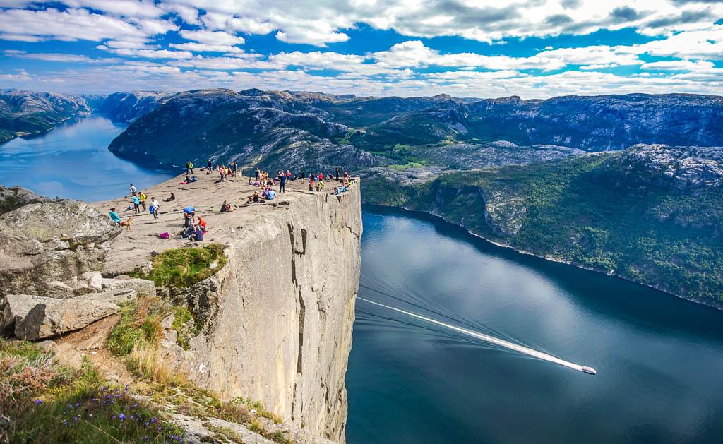 Norvegia-Stavanger-Lysefjord-Pulpit Rock
