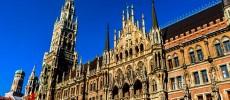 Monaco di Baviera, golden hour sui tetti della capitale segreta