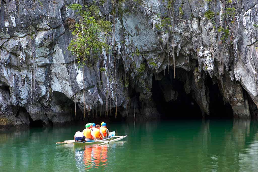 Palawan-filippine-fiume-sotterraneo
