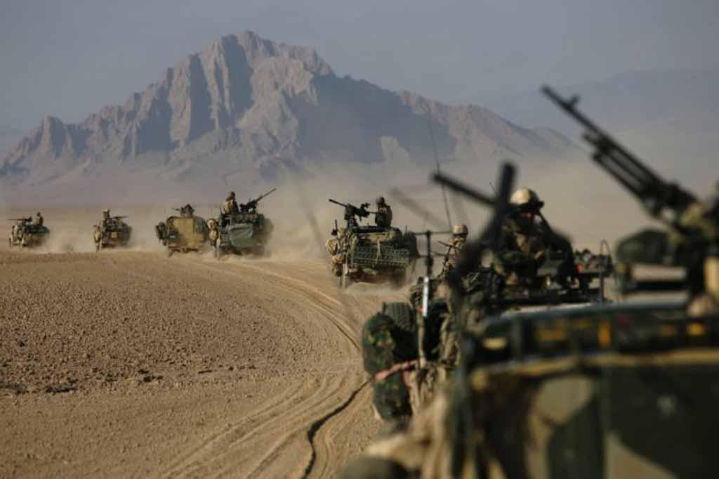 "Philip Coburn, ""Afghanistan Desert Patrol"""