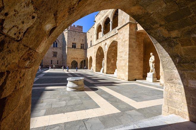 Grecia- Rodi- Palazzo del Gran Maestro