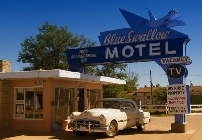 Route 66, tappa in New Mexico