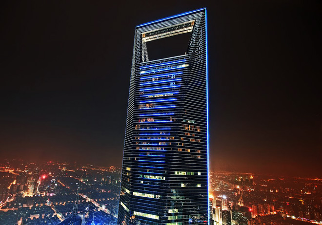 Shangai World Financial Center Shangai