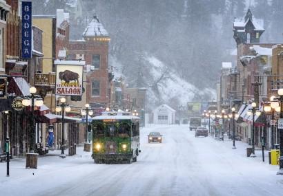 Natale in South Dakota USA