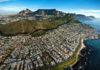 cape town veduta aerea