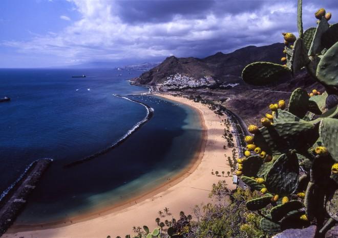 Tenerife, San Andres, Playa Las Teresitas