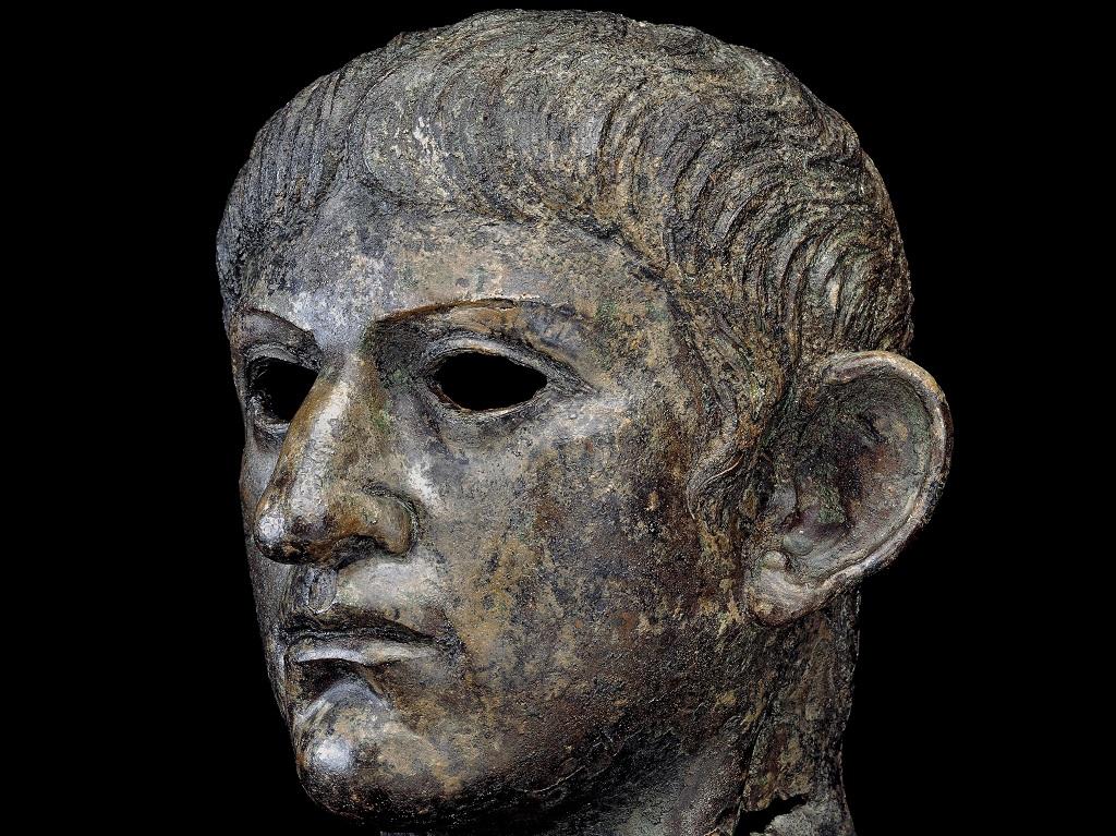 testa di bronzo nerone reperto british museum