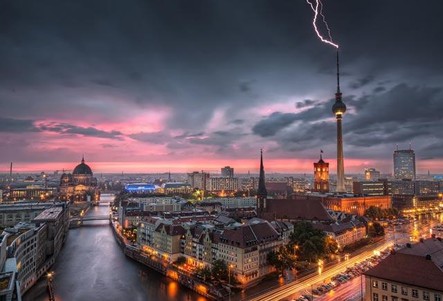 Thunderstorm-at-Alexanderplatz---Berlin-Germany-1920