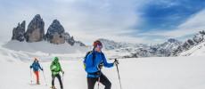 Vacanze sulla neve. Alpi in pole position