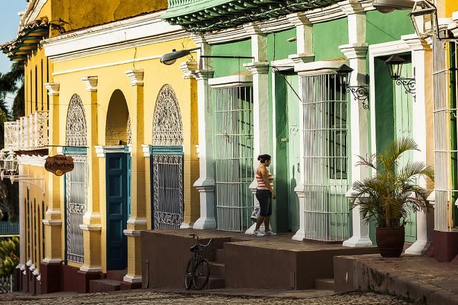 Cuba, Trinidad: calle Simon Bolivar