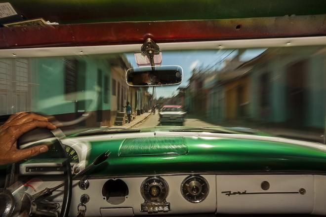 Cuba, Trinidad: a bordo di un'auto americana d'epoca