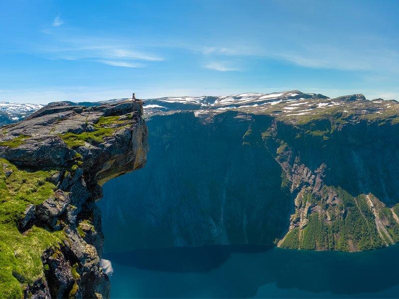 Norvegia Trolltunga