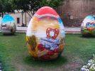 Pasqua in Croazia, le uova dipinte sono public art